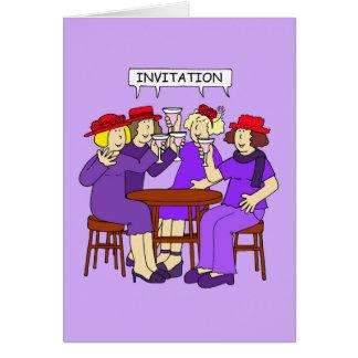Red Hat Invitaion Card
