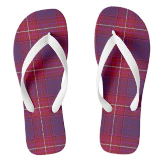 Red Hat Purple Thistle flip flops