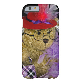 Red Hat Teddy Bear Barely There iPhone 6 Case
