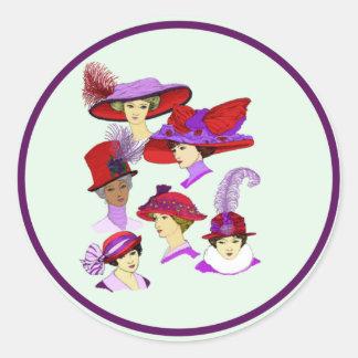 Red Hats Sticker