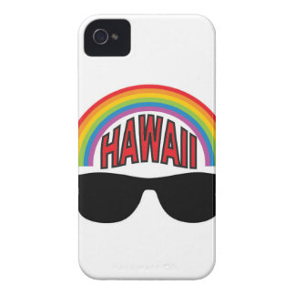 red hawaii shades iPhone 4 case