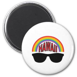 red hawaii shades magnet