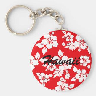 Red Hawaiian Keychain