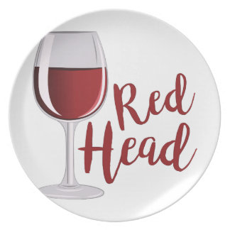 Red Head Plates