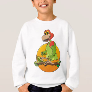 Red Headed Parrot Sweatshirt
