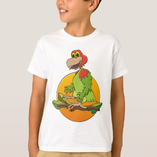 Red Headed Parrot T-Shirt