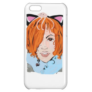 Red headed vixen art nouveau iphone case cover for iPhone 5C