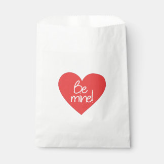 Red Heart Be Mine Favour Bag