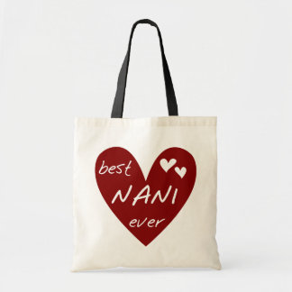 Red Heart Best Nani Ever T-shirts and GIfts