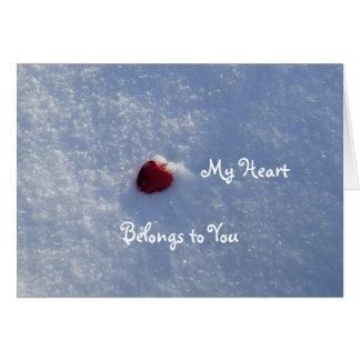 Red Heart-Boyfriend Card