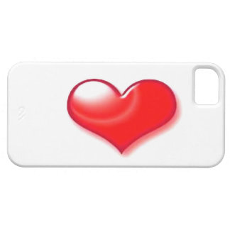 Red Heart Case For The iPhone 5