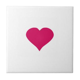 Red Heart Ceramic Tiles