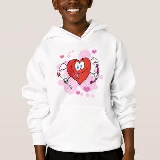 Red Heart Cute Cupid