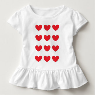 red heart dress for child