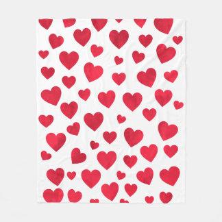 Red Heart Fleece Blanket