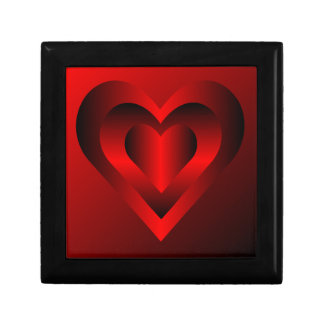 Red Heart Gift Box
