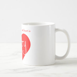 Red heart - Harry Coffee Mug