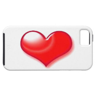 Red Heart iPhone 5 Cases