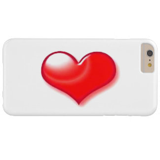 Red Heart iPhone 6 Plus Case Barely There iPhone 6 Plus Case