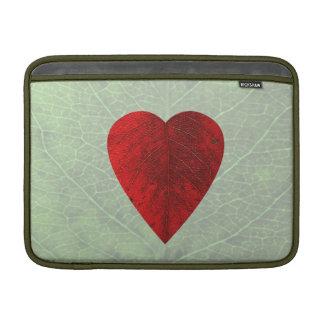 Red Heart Leaf MacBook Air Sleeve