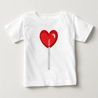 red heart lollipop baby T-Shirt