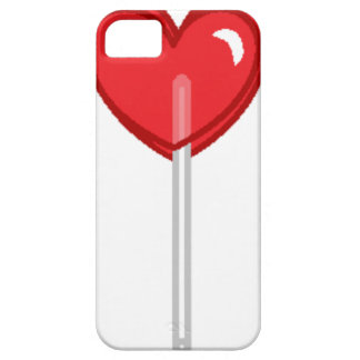 red heart lollipop case for the iPhone 5
