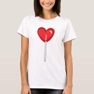 red heart lollipop T-Shirt