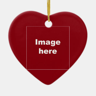 red heart ornament template