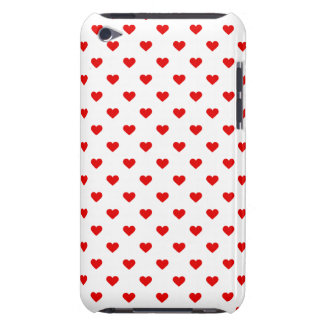 Red Heart Pattern Love iPod Touch Case-Mate Case