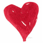 Red Heart Photo Sculpture
