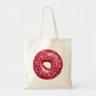Red Heart Sprinkles Doughnut.