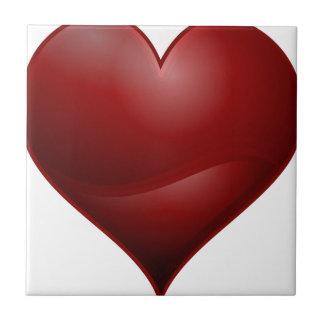 Red Heart Tile