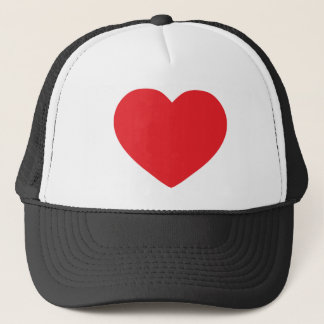 Red-heart Trucker Hat