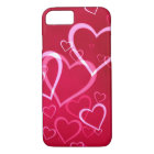 Red Heart Valentine's Day iPhone Case
