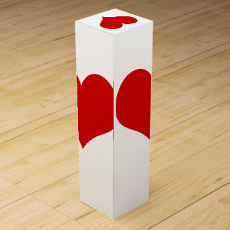 Red Heart Wine Gift Box
