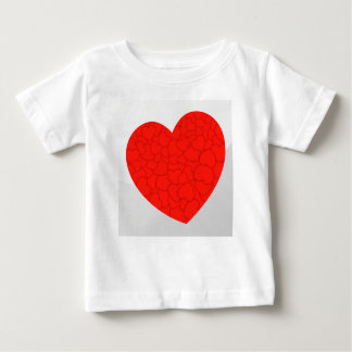 Red hearts baby T-Shirt