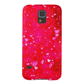 Red hearts collage pattern by healing love samsung galaxy nexus cases