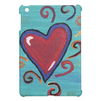 Red Hearts Collection iPad Mini Cases