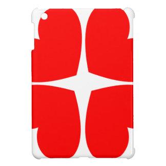 Red Hearts iPad Mini Cases