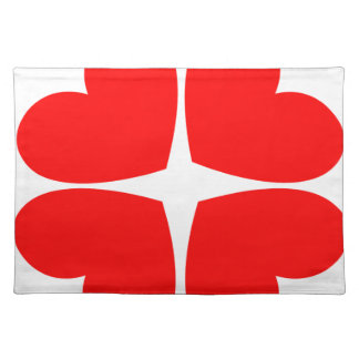 Red Hearts Placemat
