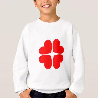 Red Hearts Sweatshirt