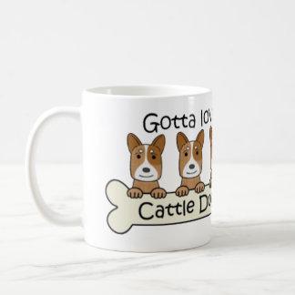Red Heelers Coffee Mug