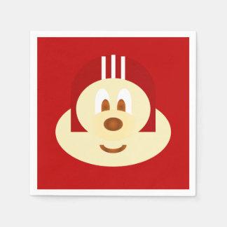 Red Helmet 鮑 鮑 Napkin Disposable Napkin