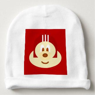 Red Helmet 鲍 鲍 Baby Cotton Beanie Baby Beanie