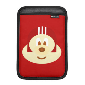 Red Helmet 鲍 鲍 Ipad Mini  Rickshaw Sleeve
