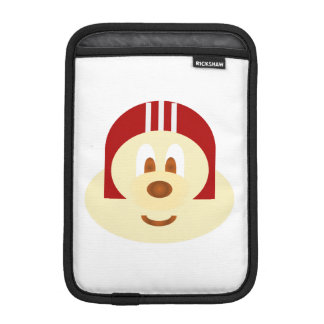 Red Helmet 鲍 鲍 Ipad Mini  Rickshaw Sleeve w/ WB