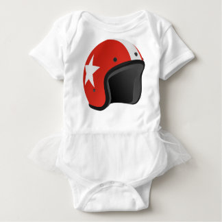 Red Helmet Baby Bodysuit