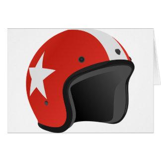 Red Helmet Card