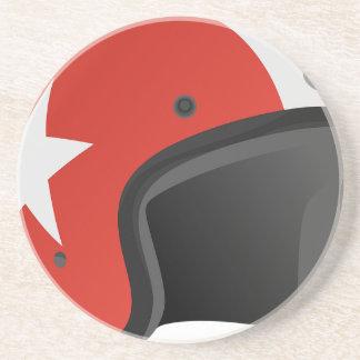 Red Helmet Coaster