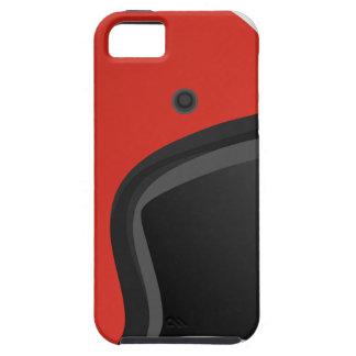 Red Helmet iPhone 5 Case